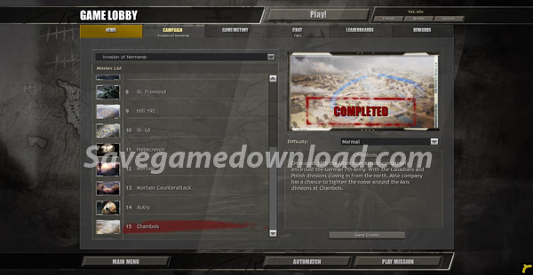 coh_invasion_of_normandy_savegamedownload