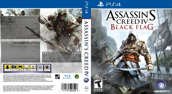 Assasins Creed Black Flag Full Save Game Ps4 Savegamedownload Com