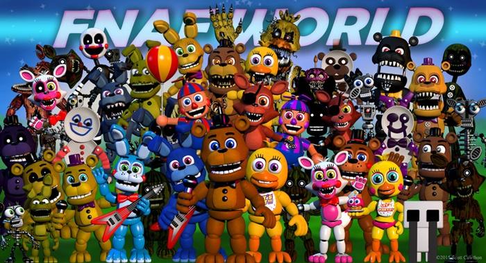FNAF World Save Game Download – SavegameDownload com